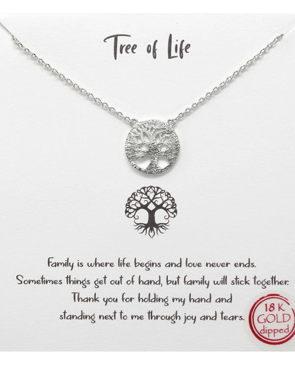 Tree Of Life Necklace BJNA002 RDHM