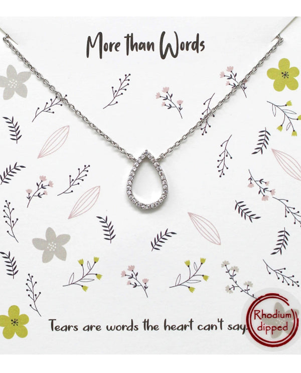 More Than Words Necklace BJNA240 RHDM