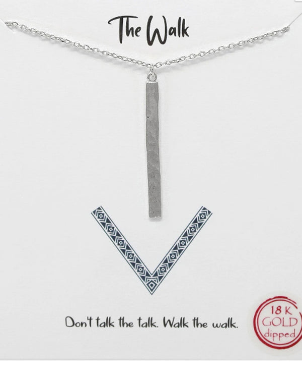 The Walk Necklace BJNA025 RHDM