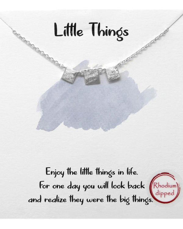 Little Things Necklace BJNA054 RHDM