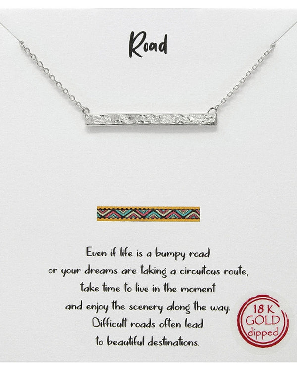 Road Necklace BJNA026 RHDM