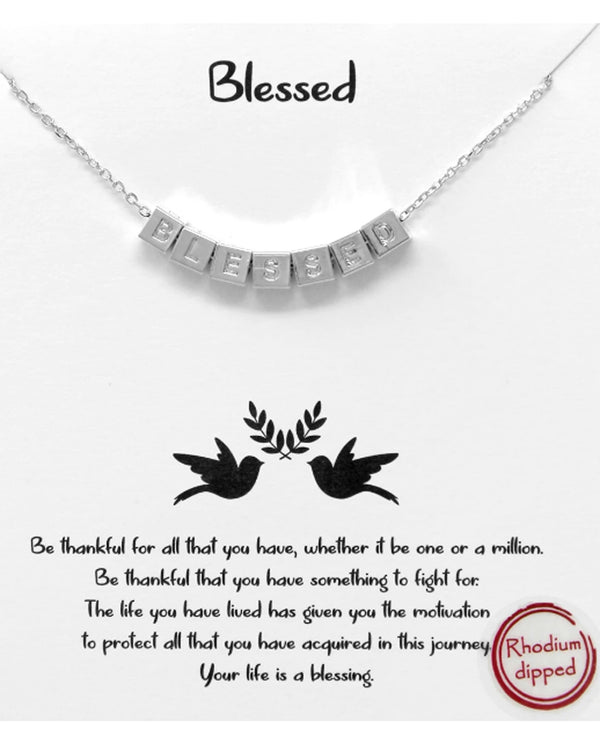 Blessed Necklace BJNA584 RHDM
