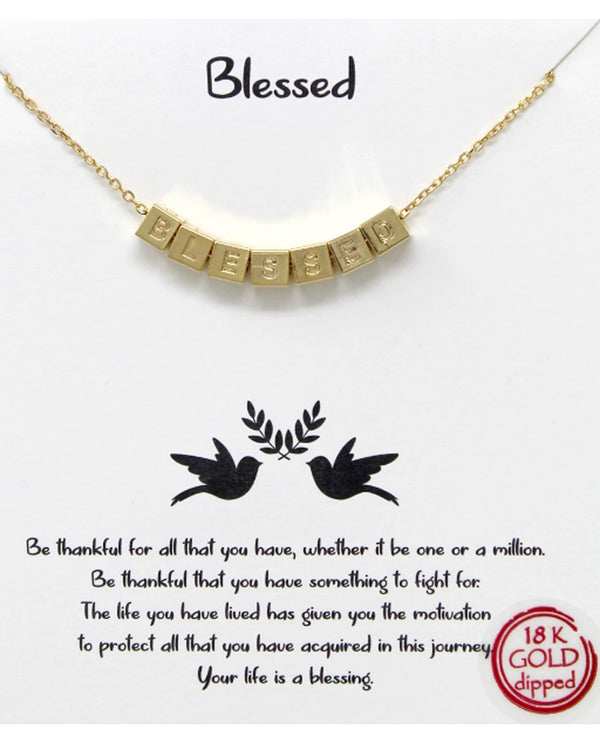 Blessed Necklace BJNA584 GOLD