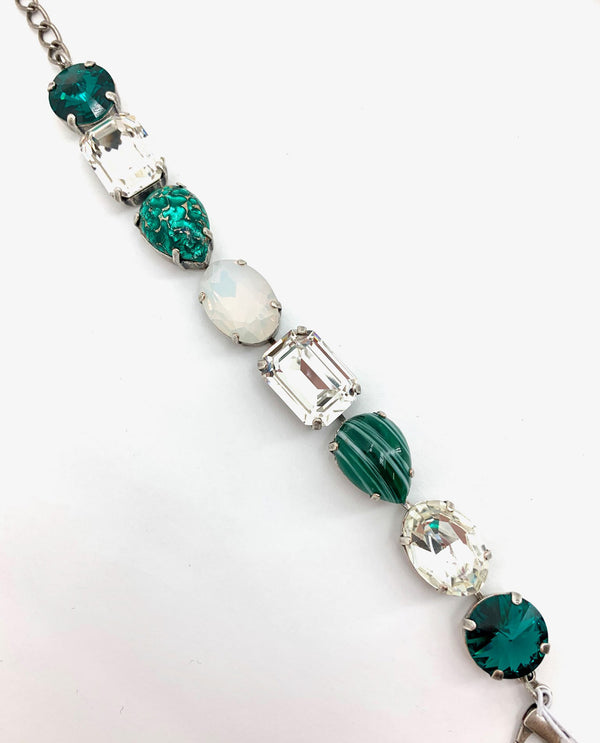 Rachel Marie Designs 212 Verity MSU One Of A Kind Bracelet