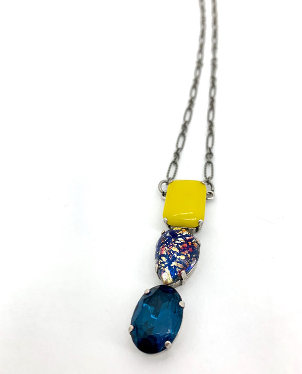 Rachel Marie Designs 214  Verity U Of M Necklace