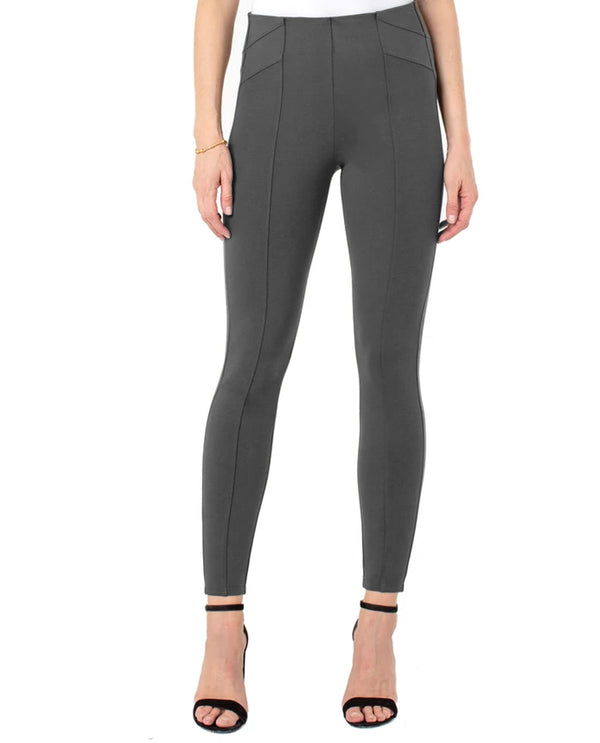 "Liverpool LM2450NF Grey Tweed Reese 28"" Legging"