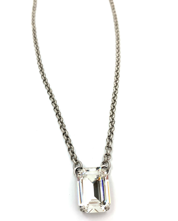 Rachel Marie Designs Roxy Necklace Clear