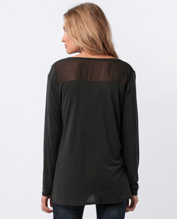 Sinuous ST2338 Long Sleeve Wrap Black