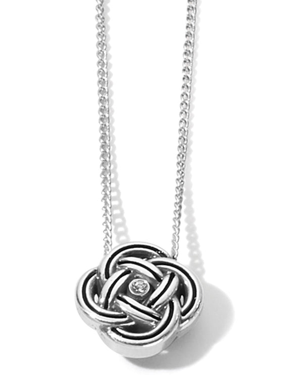 Brighton JM3500 Interlock Mini Necklace