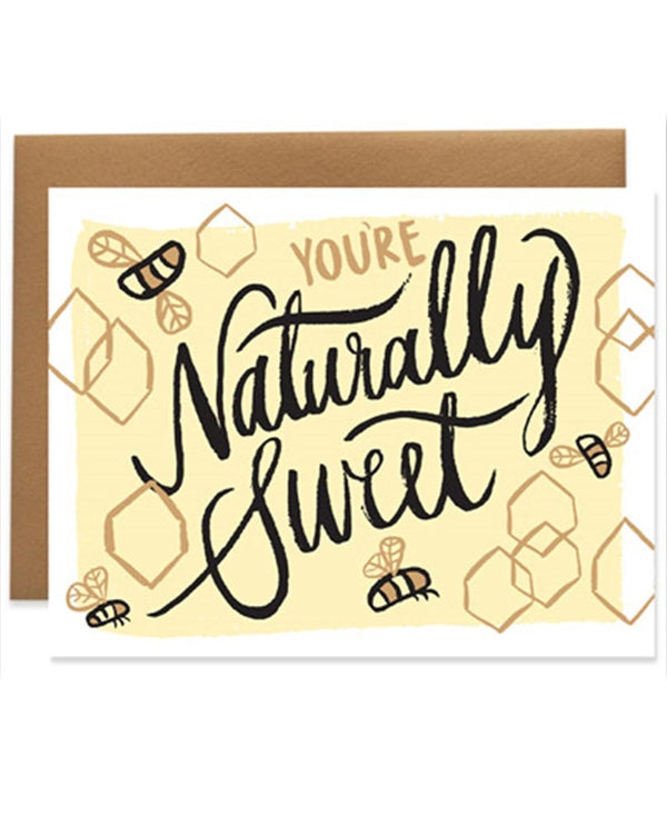 9th Letter Press GC612 Naturally Sweet Card