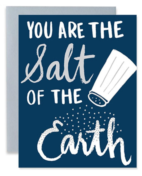 9th Letter Press GC504 Salt Of The Earth Card