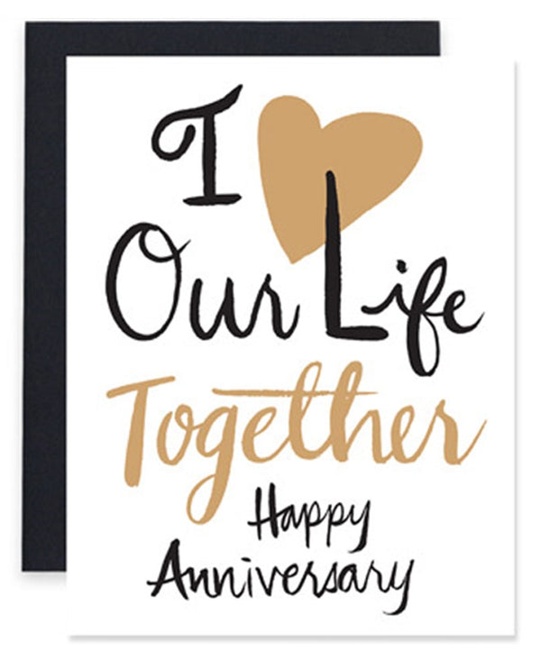 9th Letter Press WD515 Life Together Card