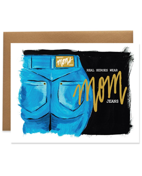 9th Letter Press HD603 Mom Jeans Card
