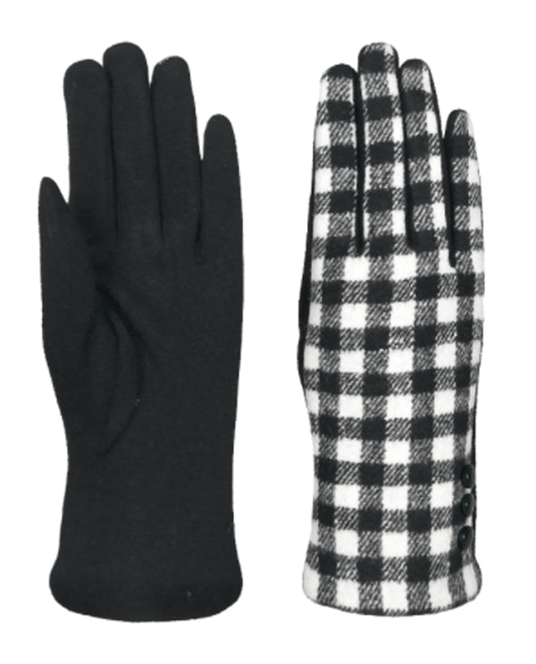 Buffalo Plaid Gloves BLWT