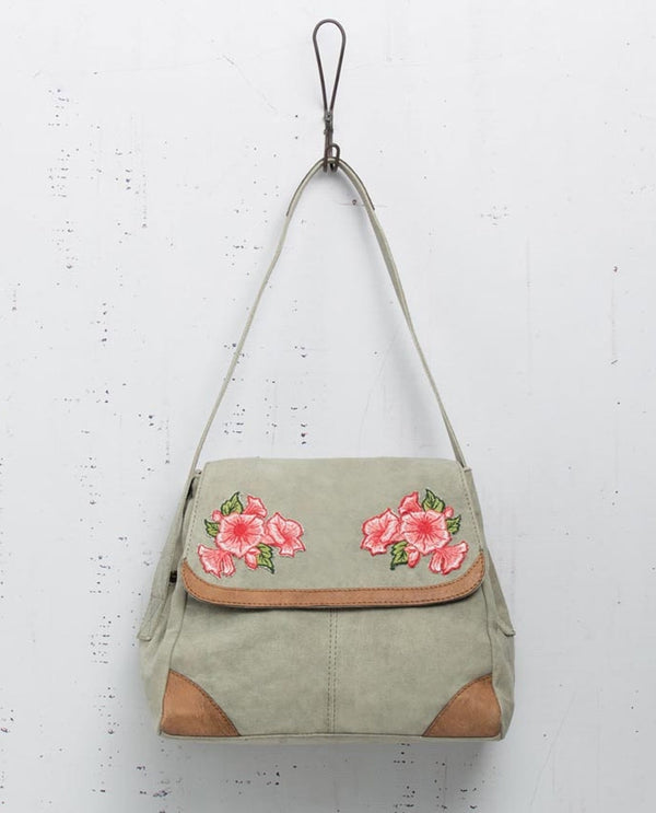 Mona B M-5016 Gardenia Shoulder Bag