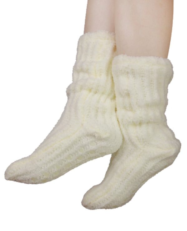Shea Butter and Slipper Socks Ivory
