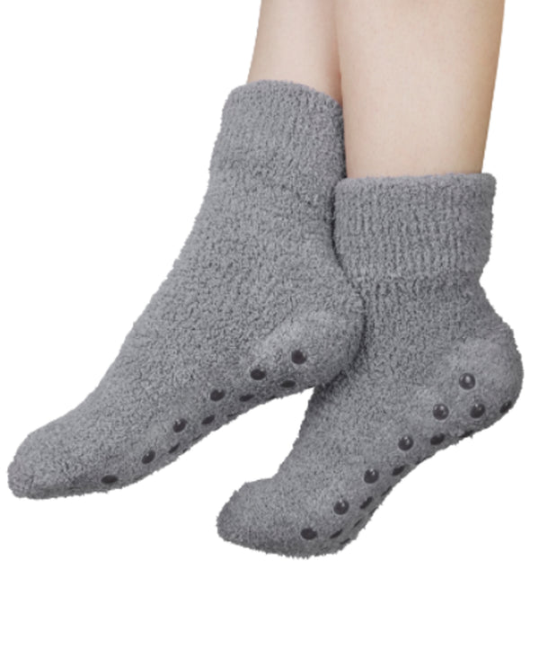 2 Pack Socks With Shea Butter and Lavender grey