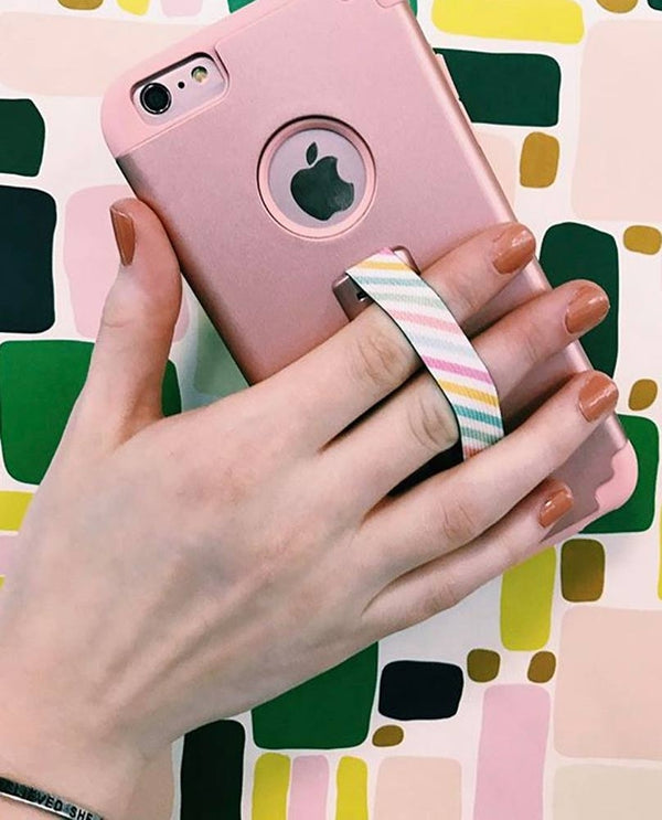 Love Handle Pastel Phone Sling Grip