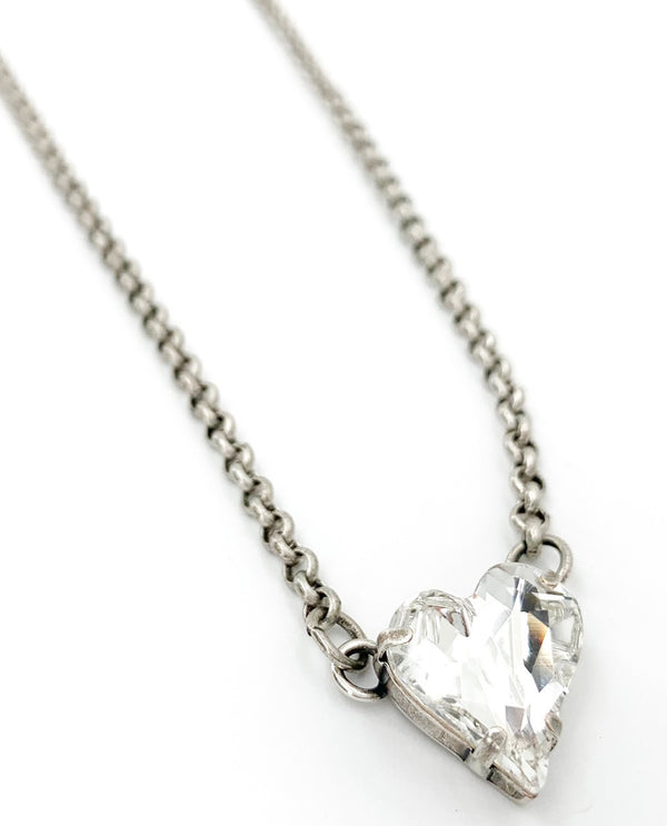Rachel Marie Designs Lucy Crystal Heart Necklace