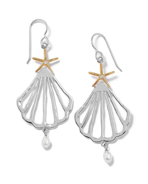 Brighton JA7443 Paradise Cove Trio French Wire Earrings