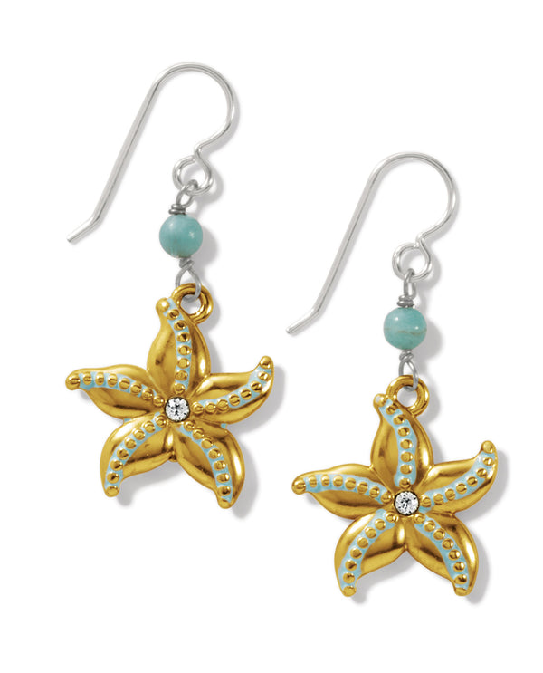 Brighton JA7433 Paradise Cove Starfish French Wire Earring