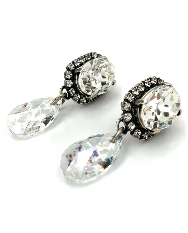 Rachel Marie Designs Hazel Halo Earring Clear