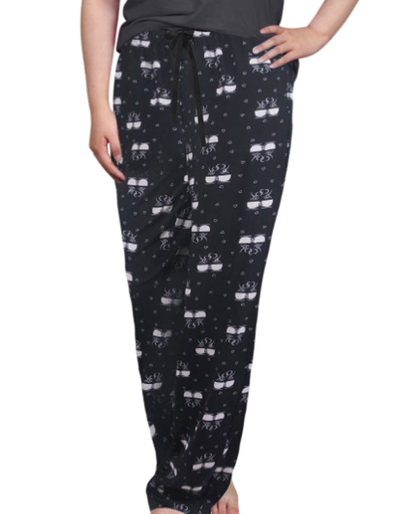 Coffee Hearts Lounge Pant 69462-F