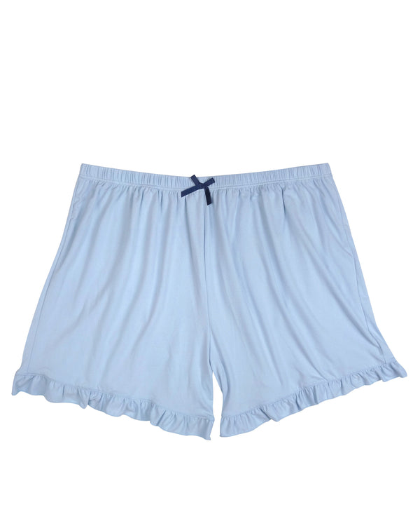 2 Piece Navy/Light Blue Lounge Short 69534-F