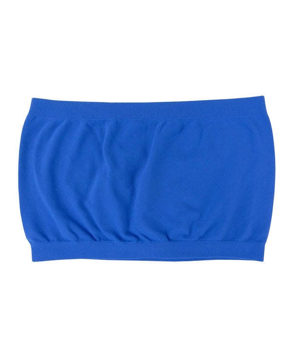 Seamless Tube Top Y7777 Royal Blue