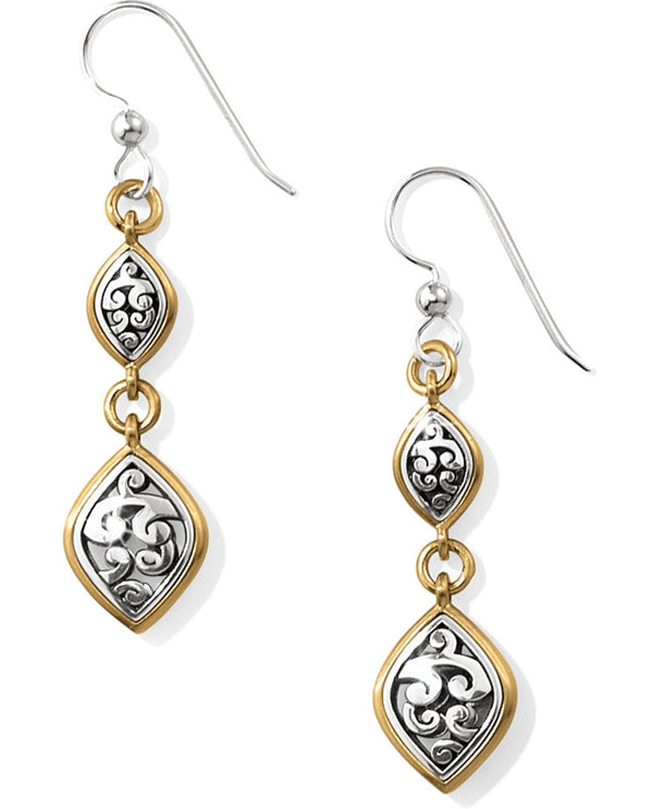 Brighton JA3742 Elora Lux French Wire Earrings