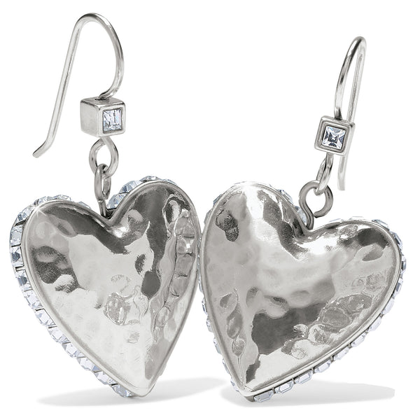 Brighton JA7151 Spectrum Love French Wire Earrings Clear