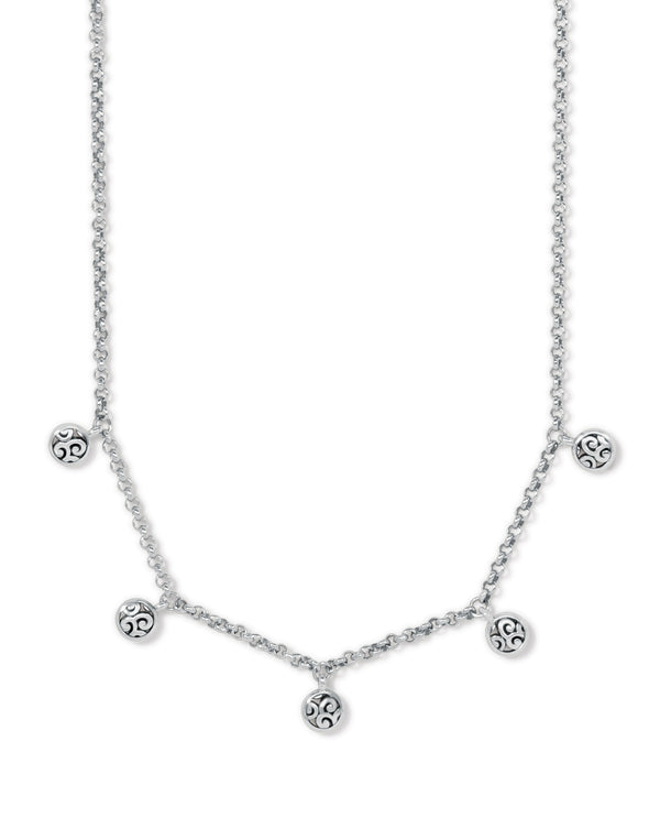 Brighton JM4520 Mingle Petite Drops Necklace