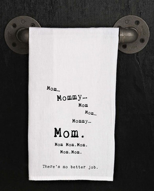 Second Nature By Hand TWL079 Mom Best Job Towel