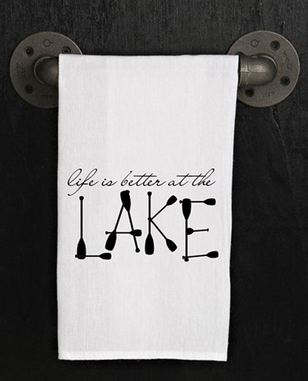 Second Nature By Hand TWL205 Better At The Lake Towel