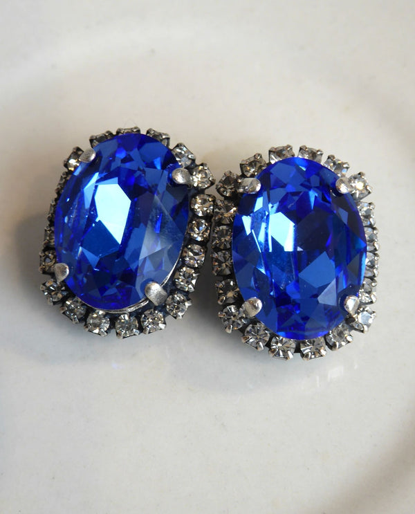 Leah Halo Clip Earrings By Rachel Marie Designs