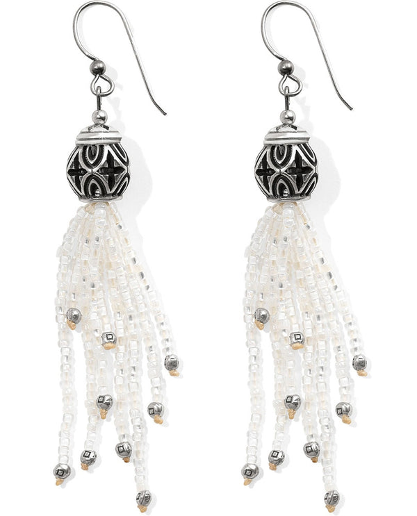 Brighton JA384W Boho Mix Tassel French Wire Earrings
