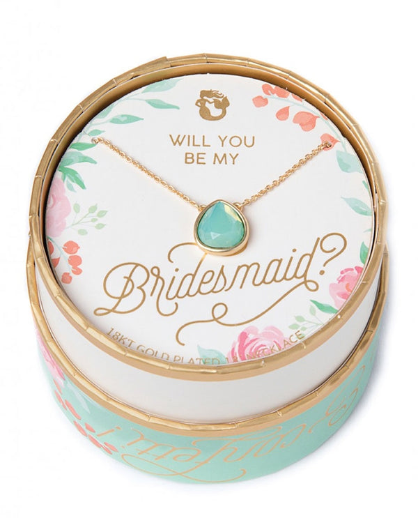 Spartina 449 957637 Bridesmaid Something Blue Necklace