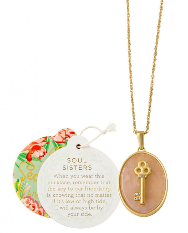 Spartina 449 950829 Soul Sisters Key Necklace
