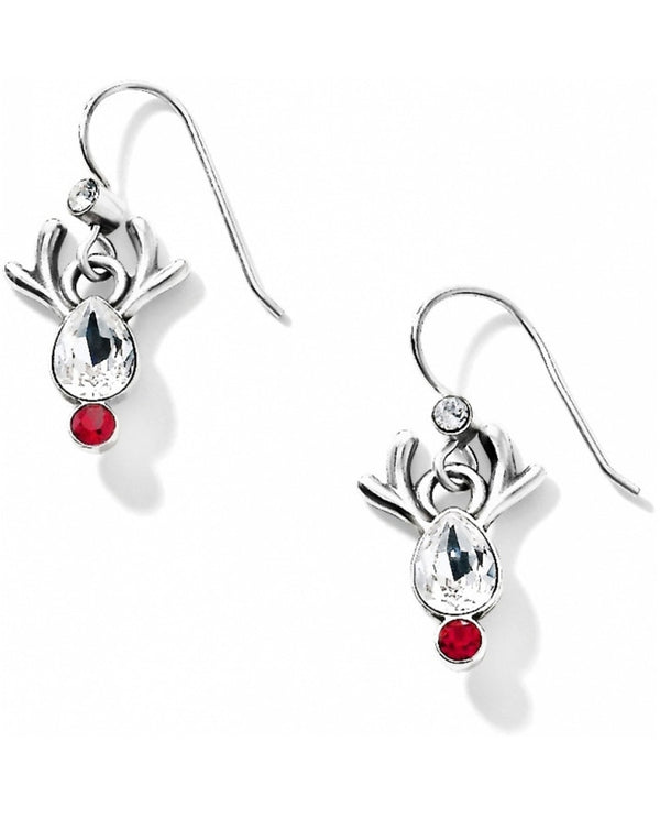 Brighton JA1563 Reindeer Rock French Wire Earrings