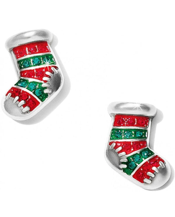 Brighton JA1463 Blingy Stocking Post Earrings
