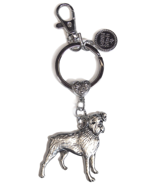 Boxer Key Ring