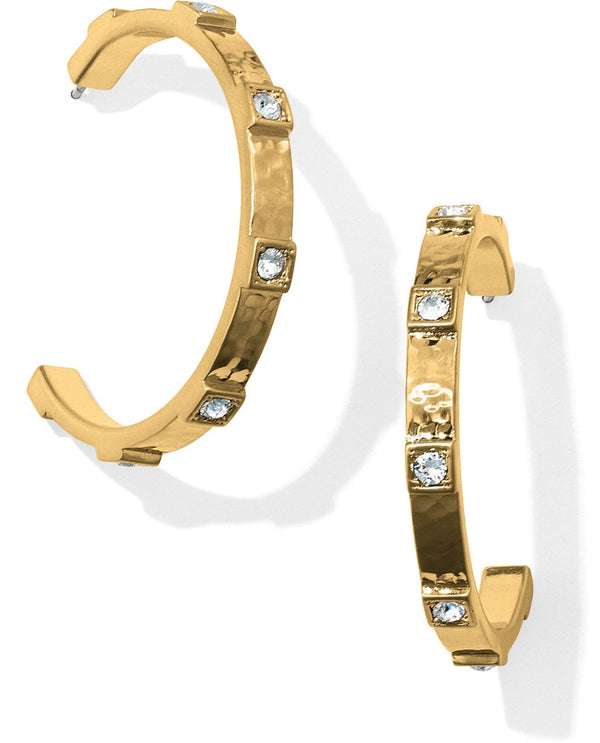 Brighton JA3905 Meridian Zenith Station Hoop Earrings