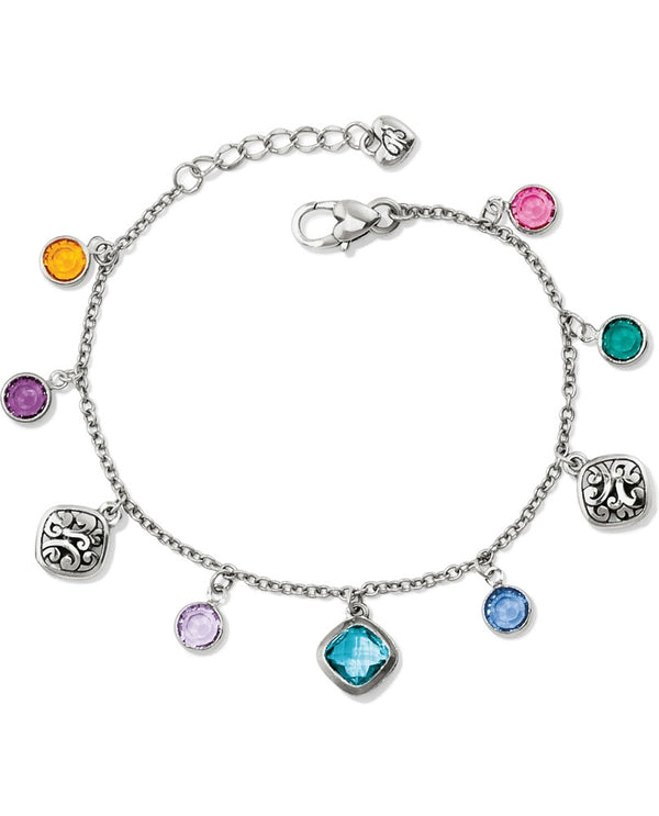 Multi Brighton JF5273 Elora Gems Bracelet with candy colored Swarovski gems