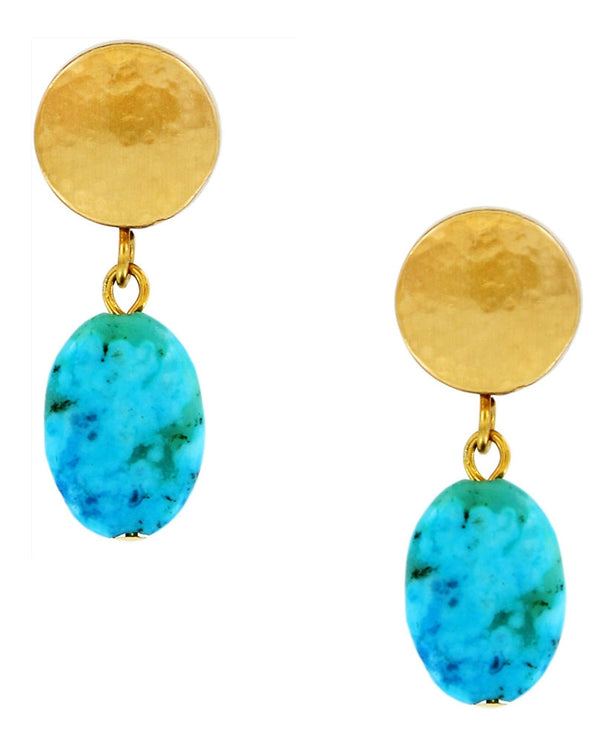 Brighton JA4033 Mediterranean Petite Post Drop Earrings