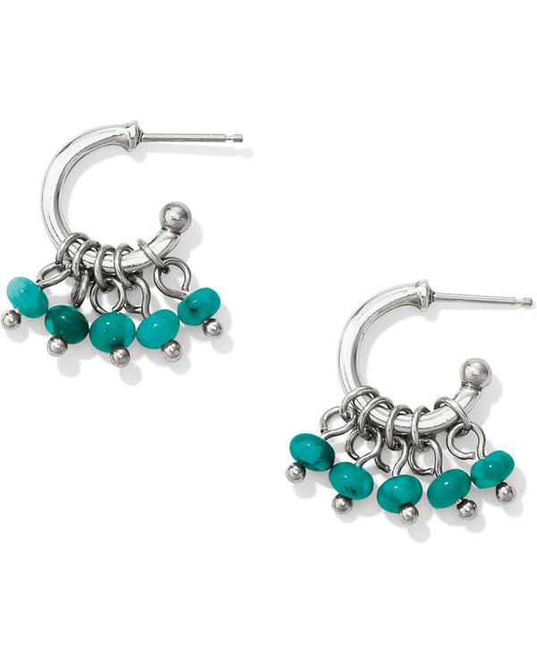 Brighton JA3963 Marrakesh Oasis Mini Hoop Earrings