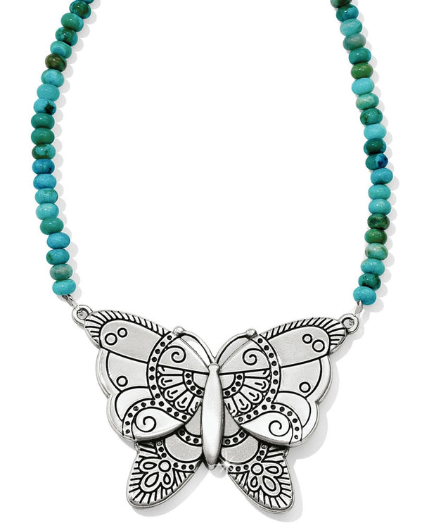 Brighton JL8433 Marrakesh Oasis Butterfly Necklace