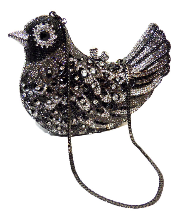Crystal Dove Evening Bag