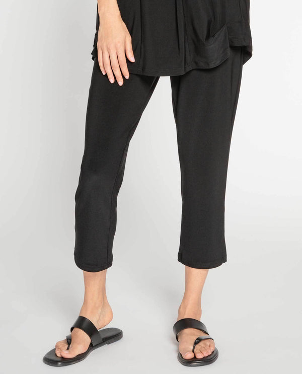 Sympli 2748S Short Narrow Pants Black