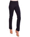 Krazy Larry P508 Straight Leg Pants in navy give you a slim look with tummy control panel