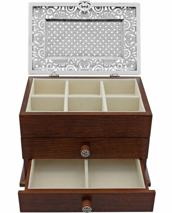 Brighton G80790 Lacie Daisy Jewelry Chest